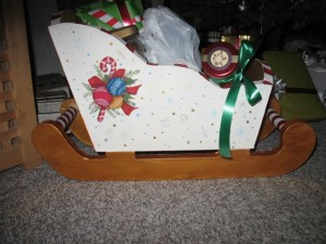 Side of Sleigh