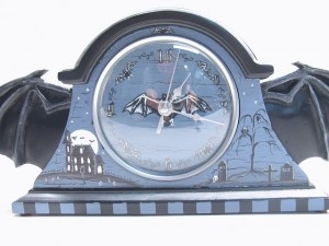 Front of Bat Wing Mantle Clock II