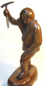 Mountain Climber Figural Nutcracker